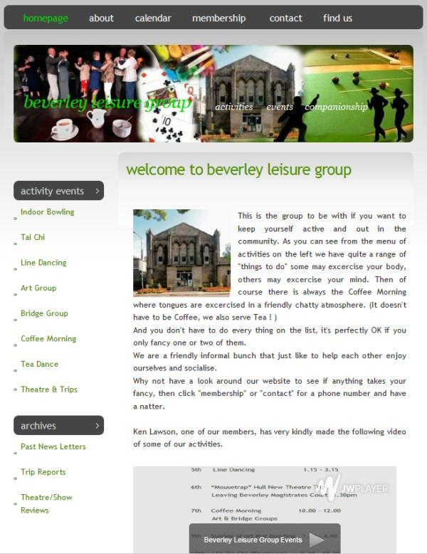 Beverley Leisure Group