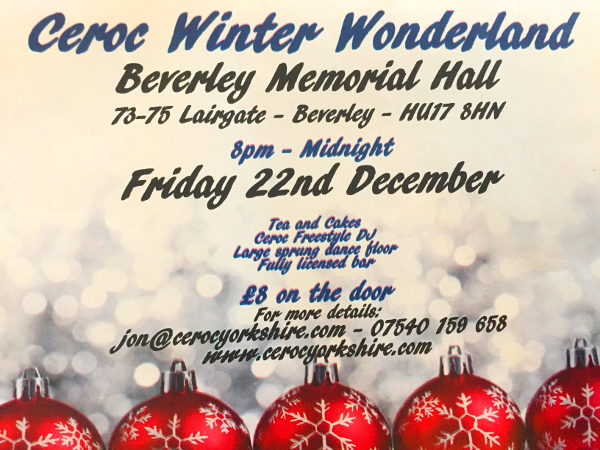 Ceroc Christmas Winter Wonderland Dance in Beveley