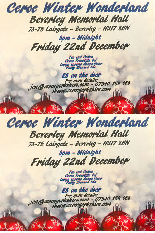 Ceroc Christmas Dance