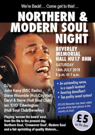 Northern & Modern SOUL Night