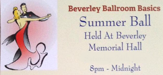 Summer Ball 23rd June 2018