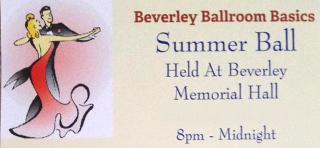 Summer Ball 23rd June 2018