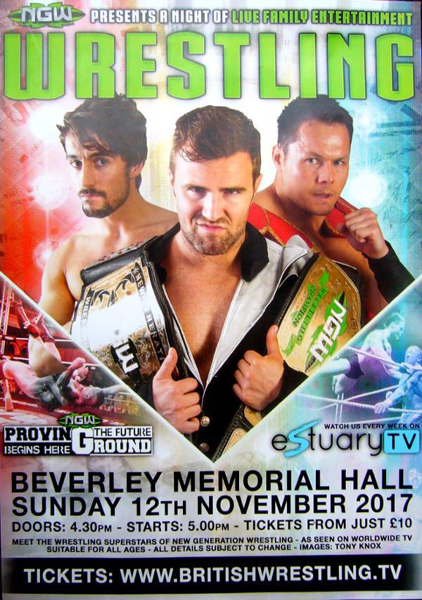 Wrestling in Beverley, November 2017