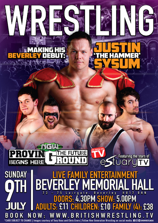 Wrestling in Beverley 9th July 2017
