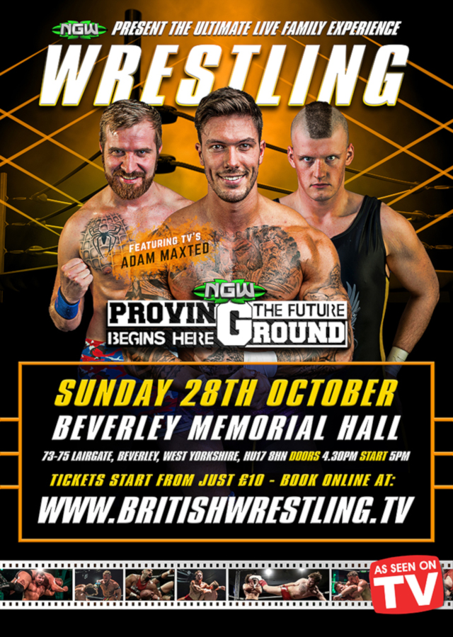 Wrestling in East Riding of Yorkshire
