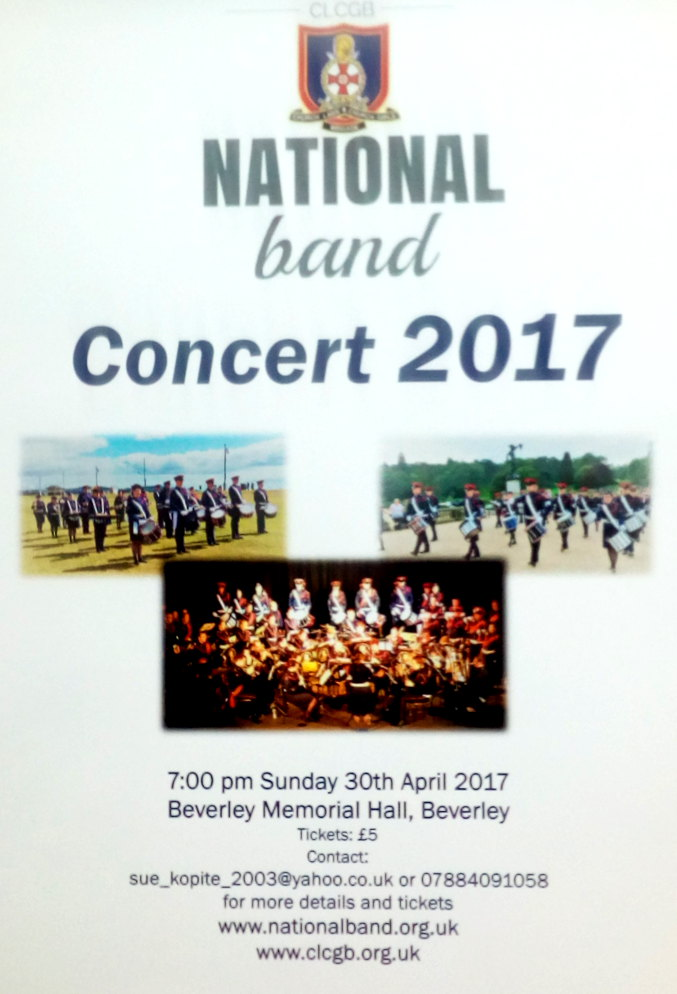 church lads & church Girls brigade national band concert - 2017