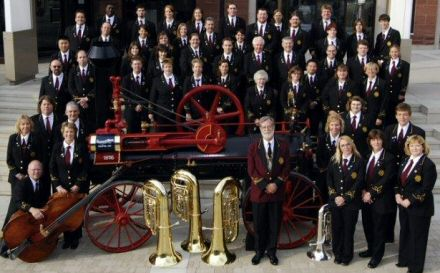 Brampton Concert Band play in Beverley, East Yorkshire.
