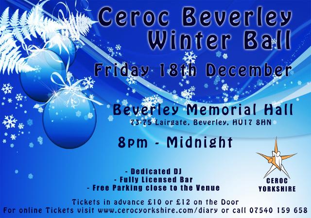 Christmas Dance in Beverley, East yorkshire.