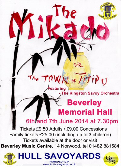 The Mikado - opera in East Yorkshire
