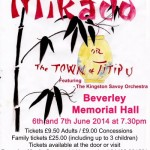 The Mikado - Comic Opera Hull Savoyards