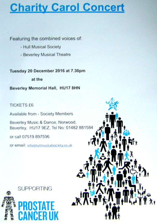 Concert in Aid of Prostate Cancer Research