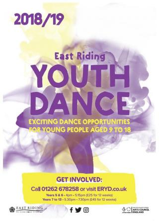 East Riding Youth Dance 2018/19