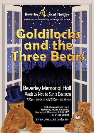 Pantomime: Goldilocks and the Three Bears