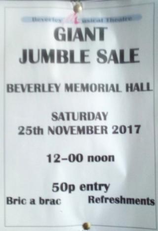 Giant Jumble Sale