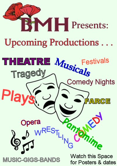 upcoming productions, coming soon to Beverley Theatre. East Riding.